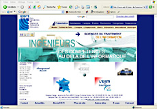 http://www.eisti.fr le site de l'Ecole Internationale des Sciences du Traitement de l'Information : 6000 pages dynamiques